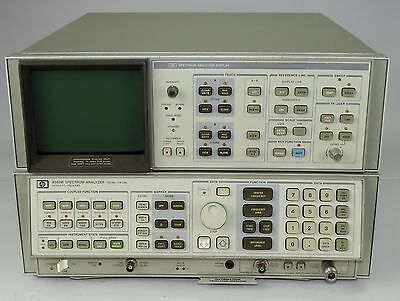 Hewlett Packard HP 8568B Spectrum Analyzer 85662A Display unit 100hz 1.5GHz