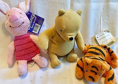 Vintage Style Winnie The Pooh, Tigger And Piglet