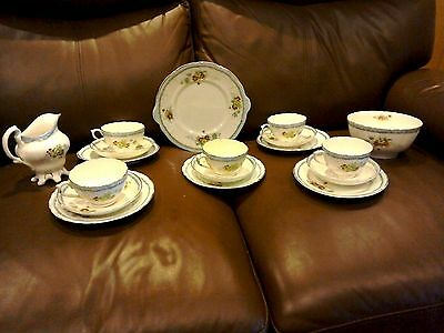 Antique Sutherland Bone China Tea Set