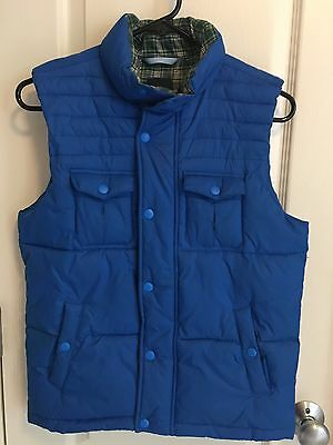 Gap Kids Royal Blue Puffy Vest Jacket Size  Large 10 Outerwear