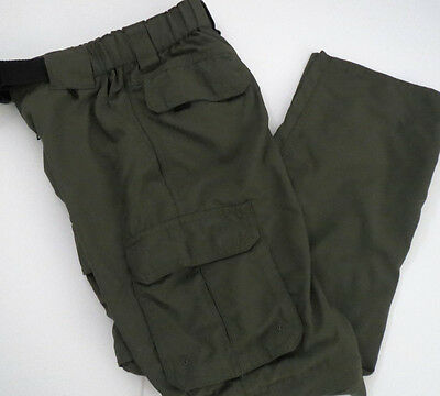 BOY SCOUTS OF AMERICA S Small Uniform Pants / Shorts Cargo switchback BSA Green