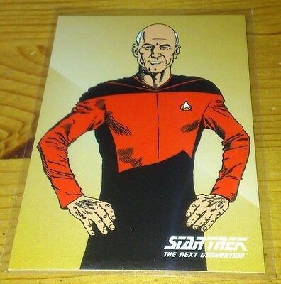 Star Trek Tng Portfolio Prints Promo Card P 2