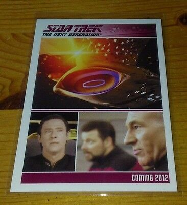 Star Trek Tng Promo Card For Series Two P 1
