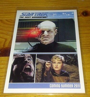 Star Trek Tng Promo Card For Series One P 1