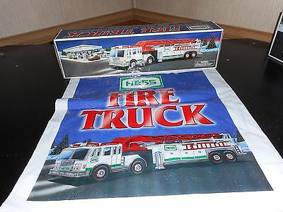 Hess Toy Truck 2000 Fire Truck Case Fresh With Bag