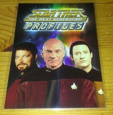 Star Trek Tng Promo Card For The Profiles Series