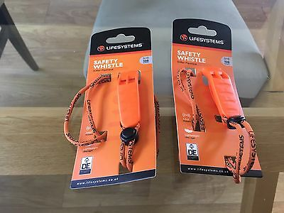 Lifesystems Safety Whistle X2