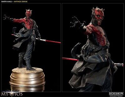 Darth Maul Star Wars Mythos Statue - Sideshow Collectibles Exclusive #2278/2500