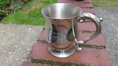 1 Pint English Pewter Tankard - Made in Sheffield England