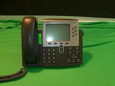 CISCO CP-7962G IP PHONE VOIP LCD DISPLAY with Stands and Handsets