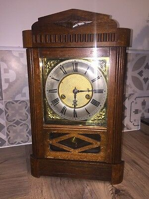 German Striking Mantle Clock
