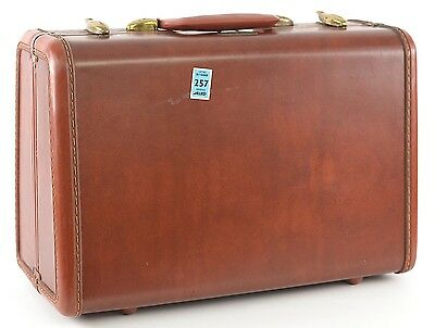 Vintage Samsonite 4915 Carry On Luggage Wide Bottom Hardshell Pink Female Bag