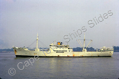 Original Colour Slide Of The Cargo Ship Bonzo