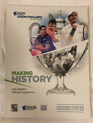 Aegon Championship 2017 - Queens Club *official Programme*