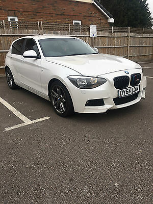 Bmw 1 Series F20 M Sport 5Dr 64 Plate Pearl White Under Warranty & Service Pack!