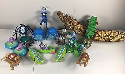 Disney Pixar A Bug's Life Toy Large 18 Figure Lot FREE SHIPPING