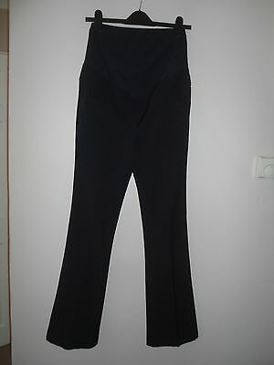 Next Maternity Over The Bump Smart Trousers Navy Size 8L