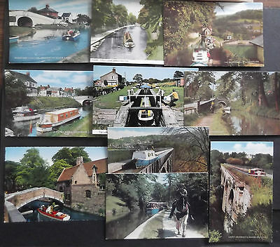 Postcards 'canals And Boats'