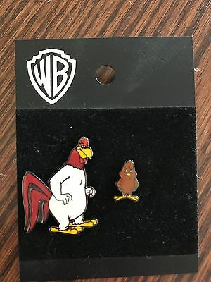 WB Foghorn Leghorn and Henery PINS Warner Brothers Looney Tunes NWT