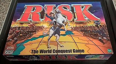 Risk The World Conquest Game - Hasbro 2000 Board Game - Complete Vintage VGC