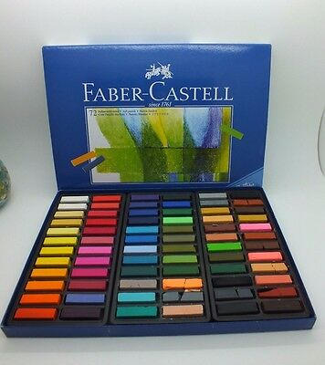 Faber-Castell Creative Studio Soft Pastels Set of 72 New 128272T  New-other