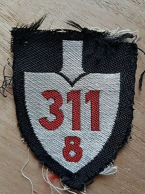german WOII RAD Reichsarbeitsdienst officer patch 311/8