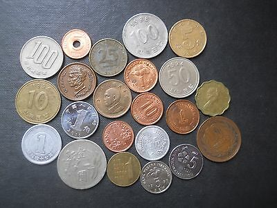 (Collection of Asian coins)