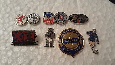 Rangers Football Badges Glentoran, Crystal Palace Set 1