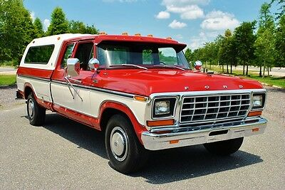 1979 Ford F-250 Pickup uper Low Miles! All Original Truck! Even the Original Tires! Must See