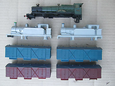 Wrenn Joblot Of New Loco And Wagon Bodies Hinton Manor Body (New And Unused)