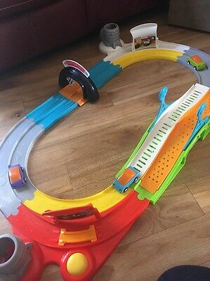 Chicco Ducati race track Playset - 3 Cars - Track And Push Along Cars 12months+