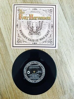 The Four Horsemen - Nobody Said It Was Easy Record Rare 1991
