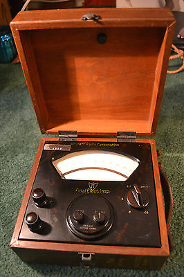 Vintage Aircraft Radio Corporation Milliamp Meter (Aircraft Final Inspection)