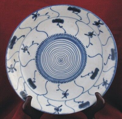 Ching Qing Yongzheng Blue / White Plate 18th Century MOVING SALE!