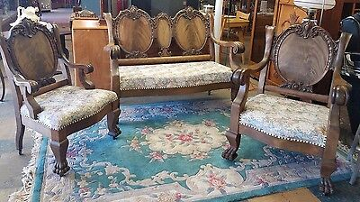 Karpen & Bros. Antique Furniture Walnut