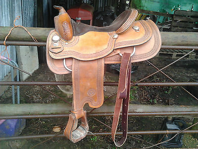 Circle Y Western Saddle plus Western items