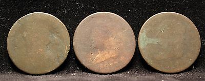 Rare 1809 1812 1813 US Large One 1 Cent 1c Coin Classic Head Circulated Early