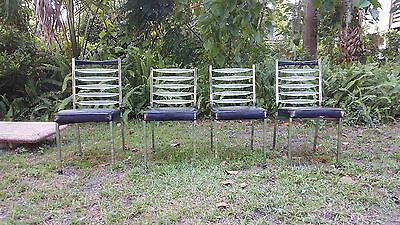 Set of 4 50's DAYSTROM DINETTE CHAIR MID CENTURY MODERN SPACE ATOMIC