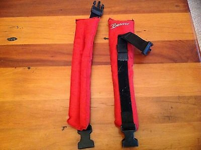Diving equipment.. Beaver ankle weights in excellent condition