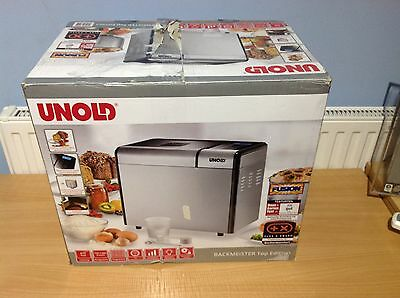 Unold 68415 Automatic Bread Maker Machine  Top Edition