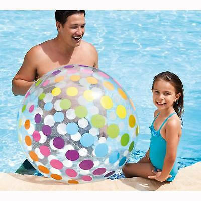 "New Intex Large Jumbo Inflatable Beach Ball 42""/107Cm Swim Pool Beach Party"