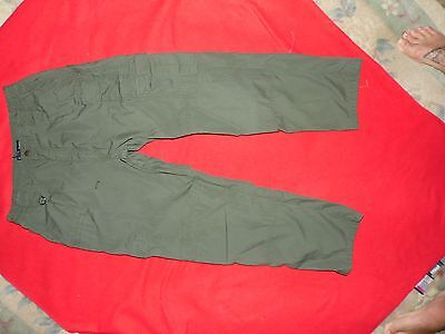 Mens Green 5.11 Tactical Series Security/EMT/Police Pants 34 x 30