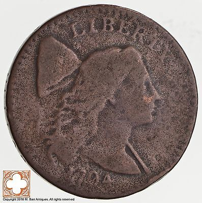 1794 Flowing Hair Large Cent S.31 *2529