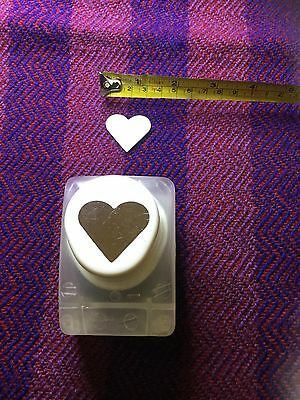 Create and Craft Heart Design Paper Punch