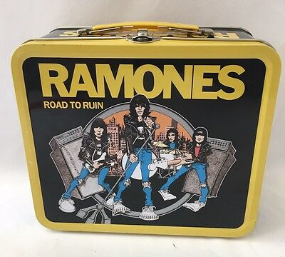 THE RAMONES Lunchbox metal lunchbox