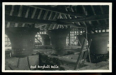 RP Postcard - East Bergholt Bells - Suffolk