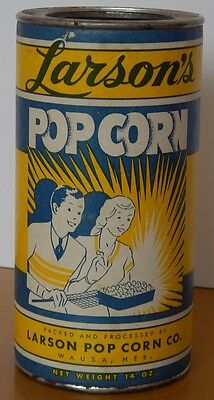 Vintage  pop corn tin