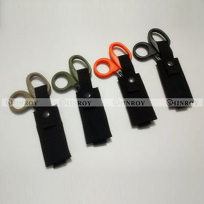 Outdoor EDC Molle Military Medical Tactical Scissors Bag Shears Sheath Pouch