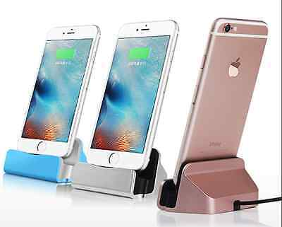 iPhone Charger Docking Station Cradle Sync Charging For iPhone 5s, 6, 6 Plus  7