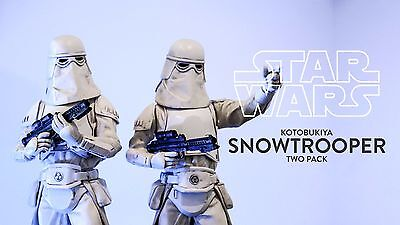 Kotobukiya Star Wars Snowtrooper ArtFX Double Statue Boxed Set NEW!!!